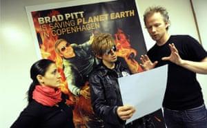 Copenhagen diary: COP15 Director Tue Biering Brad Pitt is saving Planet Earth in Copenhagen