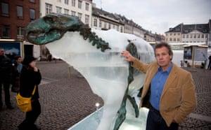 Copenhagen diary: COP15 Arctic Explorer pen Hadow