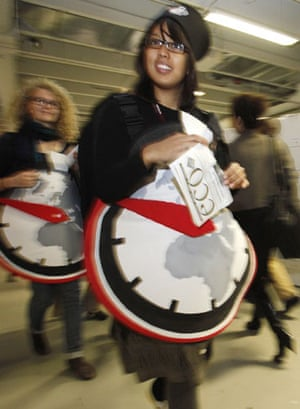 Copenhagen diary: COP15 Activists from Christian Aid