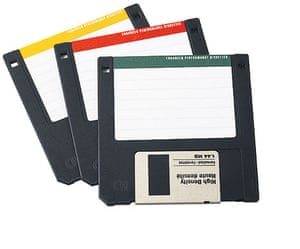 Lost in the noughties: Floppy disks
