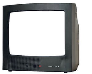 Lost in the noughties: Television set