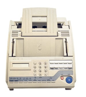 Lost in the noughties: Electronic fax machine