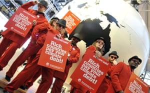 Copenhagen diary: COP15 Environmental activists of the Danish organization MS ActionAid