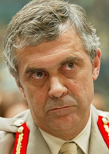 Lt Gen Freddie Viggers, pictured at a congressional hearing in Washington DC in 2004.