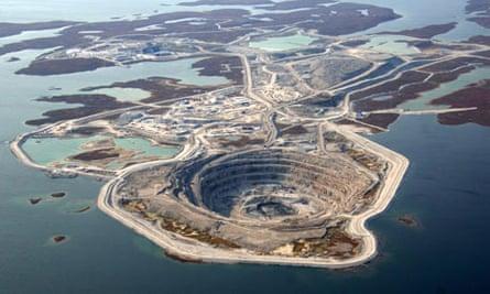 Rio Tinto's Diavik diamond mine
