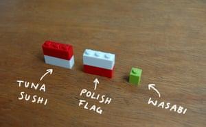 I Lego New York: Sushi