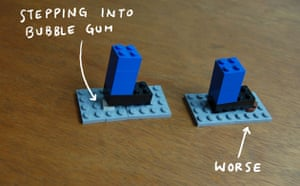 I Lego New York: Gum