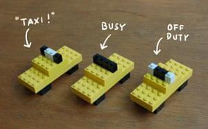 I Lego New York: Cabs