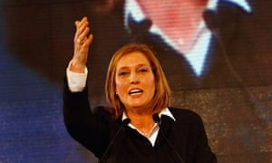 Tzipi Livni claims victory in Israel's general elections