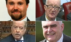 Lords involved in cash for amendments controversy
