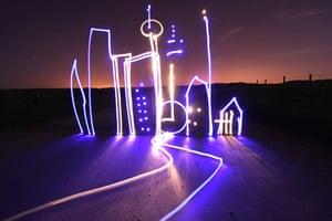 Light Graffiti: Light City