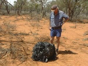 Space debris: Fallen Space Junk in Australia