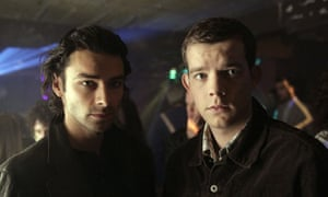 Aidan Turner and Russell Tovey in Being Human.