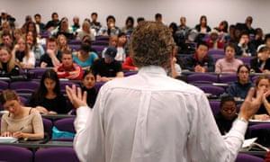 postgraduate student lecture