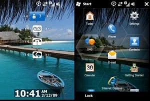 Windows Phone screen shots
