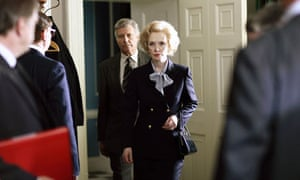 James Fox as Charles Powell and Lindsay Duncan as Margaret Thatcher