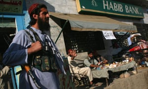 Taliban fighter in the Swat valley in Afghanistan