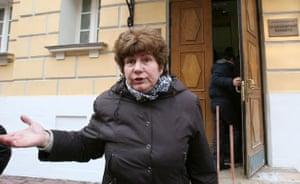 Anna Politkovskaya trial: Karinna Moskalenko,  lawyer for Politkovskaya's family.