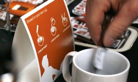 Starbucks instant coffee