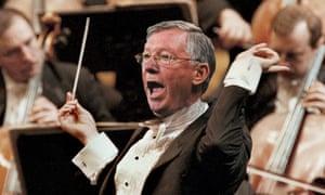 Alex Ferguson as conductor