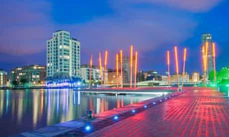 Dublin's Grand Canal Dock area