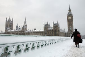 Gallery Snow in England: Heavy Snow Falls Across United Kingdom