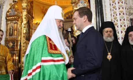 RUSSIA-RELIGION-PATRIARCH
