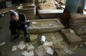 Baghdad museum : Baghdad Fighting Continues