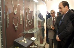 Baghdad museum : Re-opening ceremony of Iraq's National Museum in Baghdad