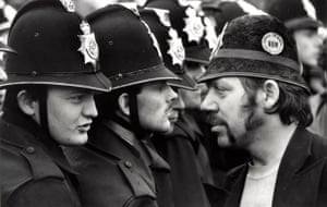 Orgreave Battle: Picket line at Battle of Orgreave