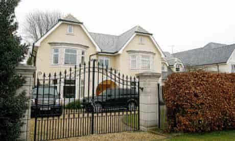 The home of Manchester United footballer Darren Fletcher and his family.
