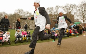 The Rehab UK Parliamentary Pancake Race