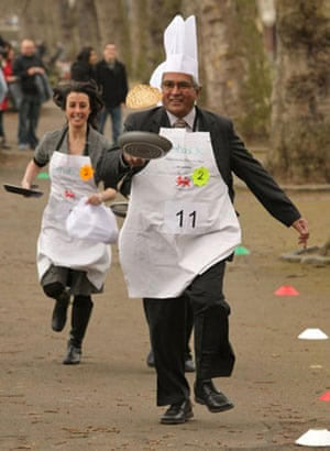 Pancake: The Rehab UK Parliamentary Pancake Race