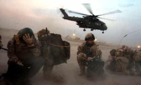 British airmen in Basra, Iraq