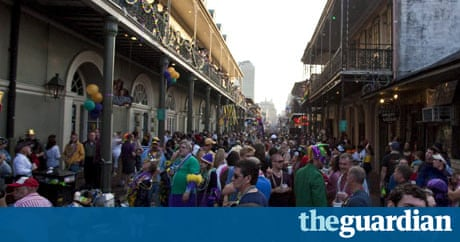 seven people shot in mardi gras gun rampage in new orleans us news the guardian. Black Bedroom Furniture Sets. Home Design Ideas