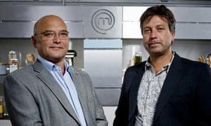 MasterChef judges Gregg Wallace and John Torode
