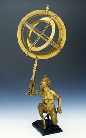 Galileo exhibition: 16th century solar orb model