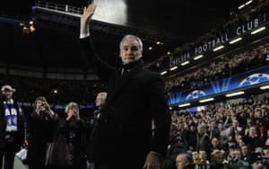 Chelsea v Juventus: Ranieri
