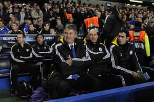 Chelsea v Juventus: Hiddink
