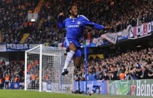 Chelsea v Juventus: Drogba