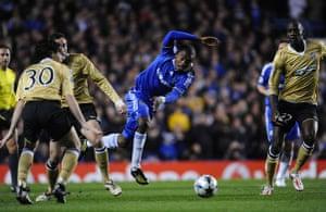 Chelsea v Juventus: Kalou