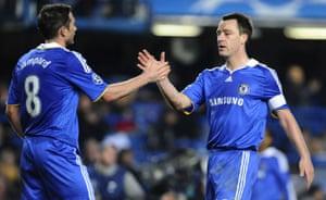 Chelsea v Juventus: Lampard