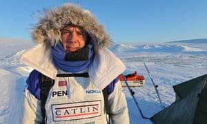 Catlin Arctic Survey member Pen Hadow