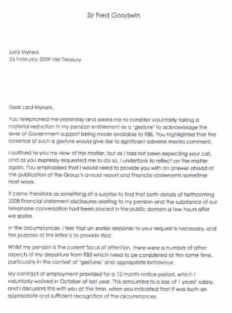 Fred Goodwin letter part 1