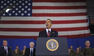 US President Barack Obama set date for the end of US combat operations in Iraq
