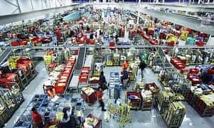 Night shift at the Royal Mail sorting office in Filton, Bristol