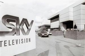 Gallery Sky 20th anniversary: Sky HQ
