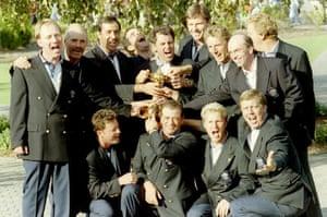Gallery Sky 20th anniversary: Ryder Cup European team members