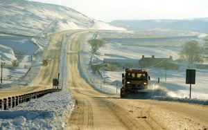 Gallery Snow updated: Couty Durham: Snow ploughs clear the A66.