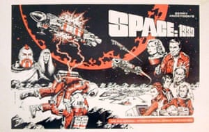 Gallery Thunderbirds auction: Space 1999 Convention artwork